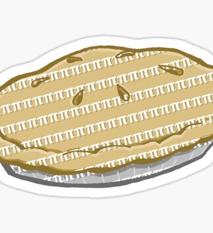 Pi Flavored Pie Sticker