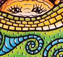 Mosaic Sunscape Sticker