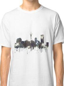 Calgary, Alberta Skyline, CANADA - CRISP Classic T-Shirt