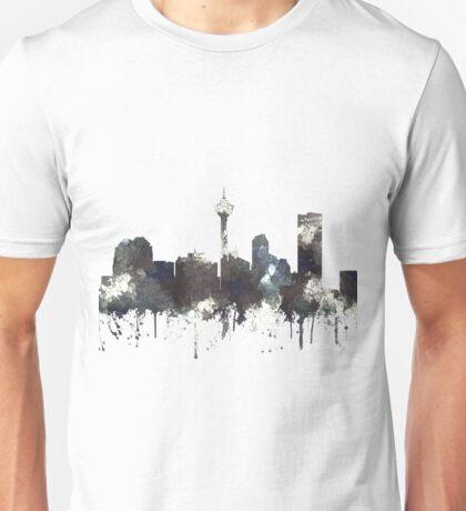 Calgary, Alberta Skyline, CANADA - CRISP Unisex T-Shirt