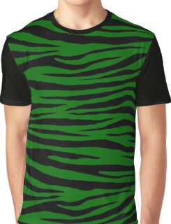 0481 Pakistan Green Tiger Graphic T-Shirt