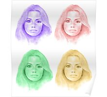 Jennifer in Four Colors Poster