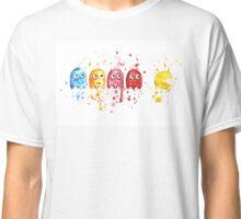 PacMan Watercolor Classic T-Shirt