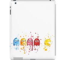 PacMan Watercolor iPad Case/Skin