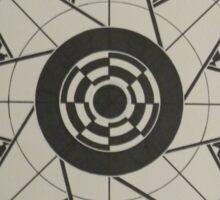 Grayscale Test Pattern Sticker