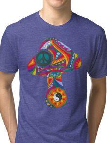 Psychedelic Mushroom Tri-blend T-Shirt