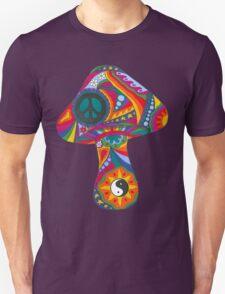 Psychedelic Mushroom Unisex T-Shirt