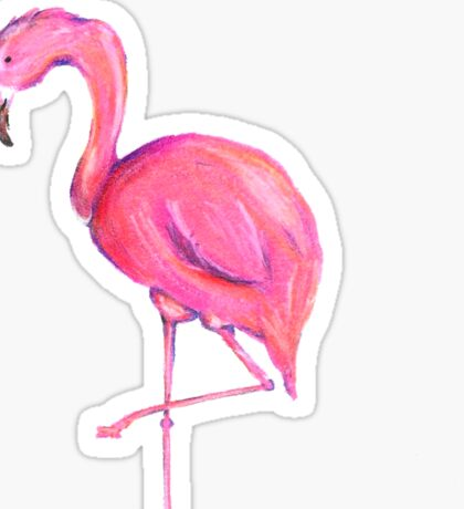 Flamingo Sticker