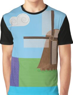 Windmill Graphic T-Shirt