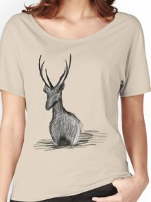 Deer in the water Women's Relaxed Fit T-Shirt