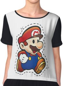 It's Paper Mario! Chiffon Top