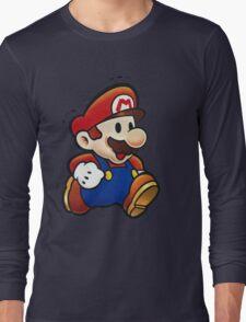 It's Paper Mario! Long Sleeve T-Shirt