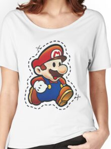 It's Paper Mario! Women's Relaxed Fit T-Shirt
