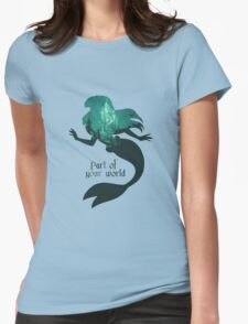 Mermaid World Womens Fitted T-Shirt