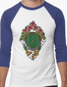 Hobbit Hole Men's Baseball ¾ T-Shirt
