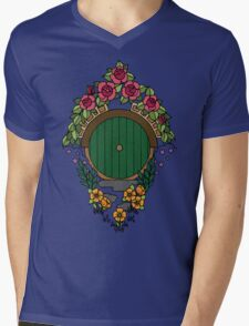 Hobbit Hole Mens V-Neck T-Shirt