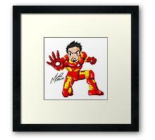 Hero of Iron Framed Print
