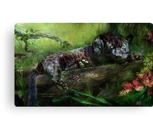 Wild Eyes - Panther Canvas Print