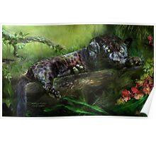 Wild Eyes - Panther Poster