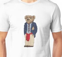 Polo Bear: Knit in Blazer w/ Red Sweater Unisex T-Shirt