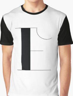 Original Typeface - letter E Graphic T-Shirt
