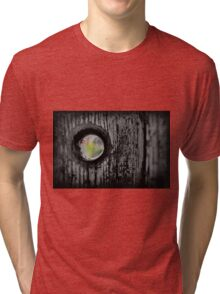 Seeking Reprieve Beyond the Cobwebs Tri-blend T-Shirt