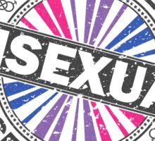 Certified Bisexual Stamp Sticker