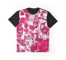 Pink Skulls Graphic T-Shirt