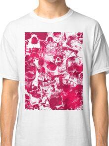 Pink Skulls Classic T-Shirt