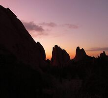Sunrise at Garden of the Gods (1) by dfrahm