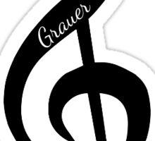 Grauer Music Sticker