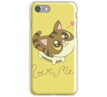 Love Me Cat iPhone Case/Skin