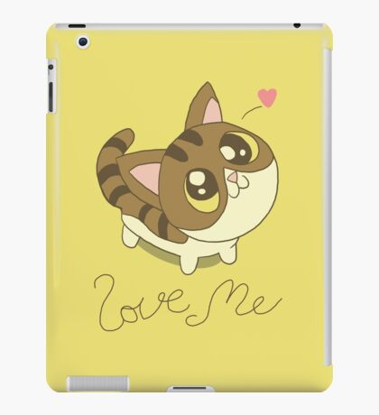 Love Me Cat iPad Case/Skin