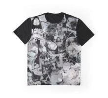White Skulls Graphic T-Shirt