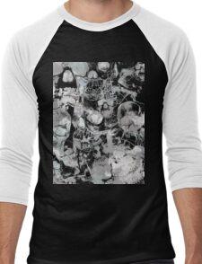 White Skulls Men's Baseball ¾ T-Shirt