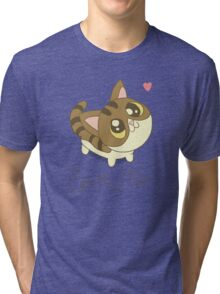 Love Me Cat Tri-blend T-Shirt