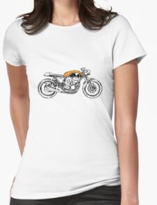Honda Vintage Cafe Racer Womens Fitted T-Shirt