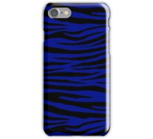 0537 Phthalo Blue Tiger iPhone Case/Skin
