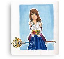 FFX - Yuna Canvas Print