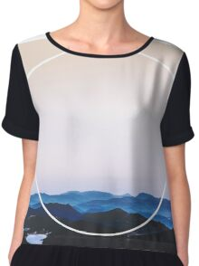 Mountains Beyond Chiffon Top