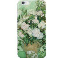 Vincent Van Gogh - Roses  iPhone Case/Skin