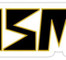 Classic Gold and Black NISMO Logo Sticker