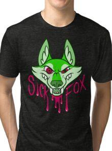 Sick Fox Tri-blend T-Shirt