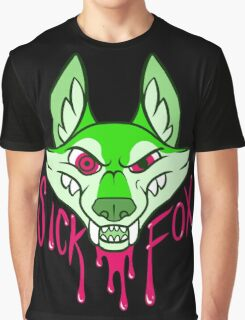 Sick Fox Graphic T-Shirt