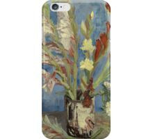 Vincent Van Gogh - Vase With Gladioli And Chinese Asters  iPhone Case/Skin
