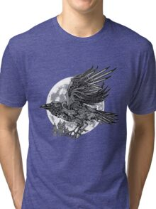 send a raven Tri-blend T-Shirt