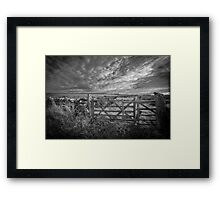 The Moors above Alston, Cumbria Framed Print