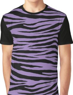 0557 Purple Mountain Majesty or Lavender Purple Tiger Graphic T-Shirt
