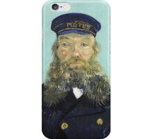 Vincent Van Gogh - Portrait Of Postman Roulin  iPhone Case/Skin