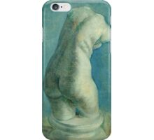 Vincent Van Gogh - Plaster Cast Of A Woman s Torso  iPhone Case/Skin